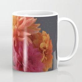 Flemish style Fall Dahlias Coffee Mug