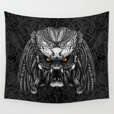 Aztec Alien Predator iPhone 4 4s 5 5c 6, pillow case, mugs and tshirt Wall Tapestry