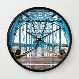Walnut Street Bridge No. 19 Wall Clock