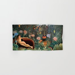 Henri Rousseau - The Dream Hand & Bath Towel