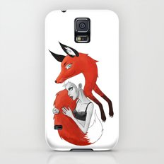 Girl and a Fox Slim Case Galaxy S5