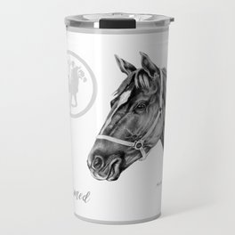 Affirmed (US) Thoroughbred Stallion Travel Mug