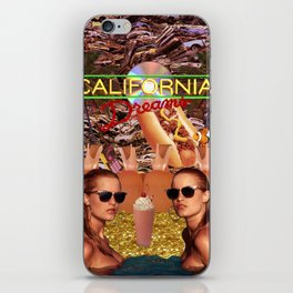 Calfornia Dreams iPhone Skin