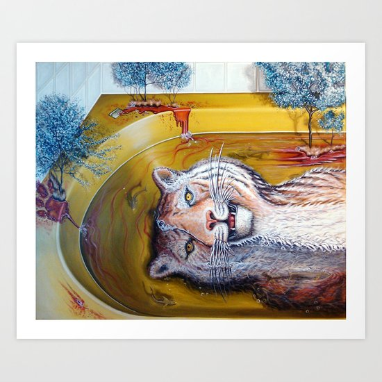 """Submissive Spill"" Art Print"