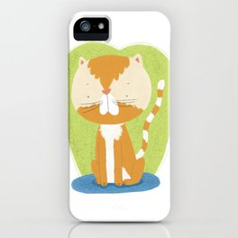 Tommy The Cat iPhone Case