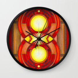 The Looking Glass Wall Clock