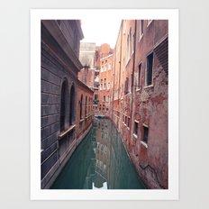Venetian Corridor Art Print