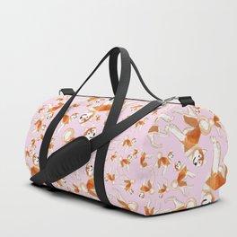 Akita Inu (Pattern) Duffle Bag