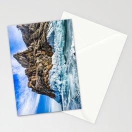 Sleeping dragon. Lake Baikal, island Olkhon Stationery Cards