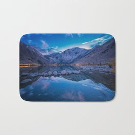 Convict Lake After the Sunset Bath Mat