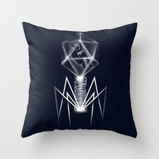 Human Virus Throw Pillow