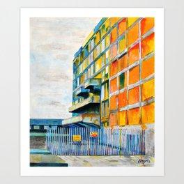 Chambers 01 Art Print