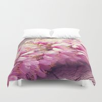 sakura Duvet Covers featuring Sakura by Ethrinity