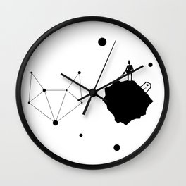 The Not So Little Prince Anymore Wall Clock