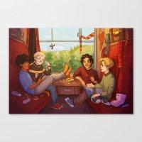 marauders Canvas Prints featuring Marauders by batcii