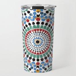 Moroccan Tiles Travel Mug