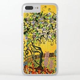 """""""Fiori della Passione"""" by ICA PAVON Clear iPhone Case"""