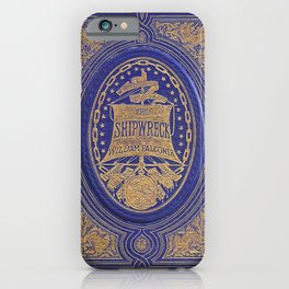 The Shipwreck Book iPhone Case