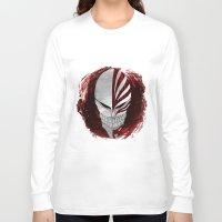 bleach Long Sleeve T-shirts featuring Bleach - Hollow by Bradley Bailey