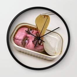 Shining Canned In Vegetable Oil Wall Clock