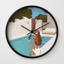 Self-isolation 2 Wall Clock
