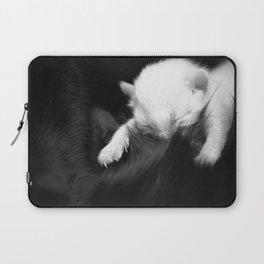 Soft kitty, white kitty. Laptop Sleeve