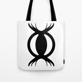 Goetic Symbol-Black Tote Bag