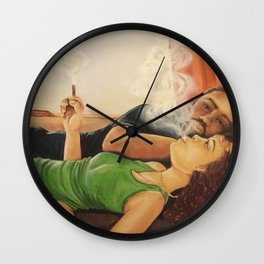 Morning Light - Private Collection Wall Clock