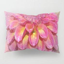 Mixed Media Flower Pillow Sham