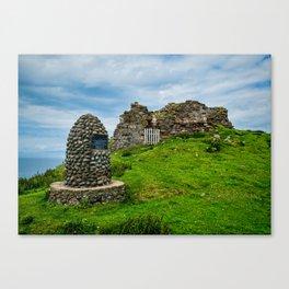 Duntulm Castle Canvas Print