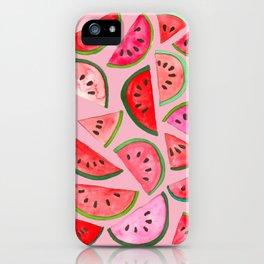 Pink Watermelon iPhone Case
