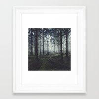 Framed Art Prints featuring Through The Trees by Tordis Kayma