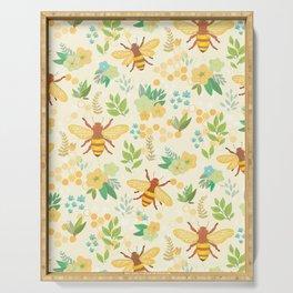 Honey Bees Serving Tray