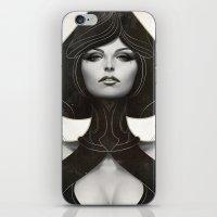 artgerm iPhone & iPod Skins featuring Pepper Spade by Artgerm™