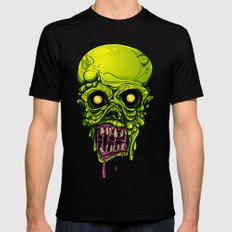Zombie Black MEDIUM Mens Fitted Tee