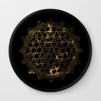 infinite Wall Clocks featuring Infinite by Zach Terrell