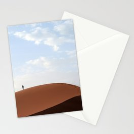Lone Traveler Stationery Cards