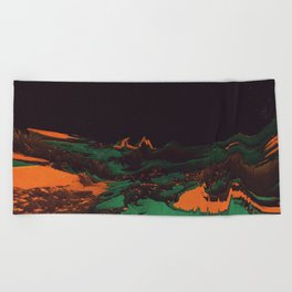 ŁÁQUESCÅPE Beach Towel