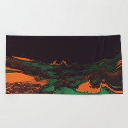 ŁÁQUESCÅPE Beach Towel