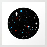 universe Art Prints featuring Universe by Terry Mack