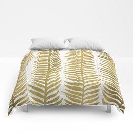 Golden Seaweed Comforters