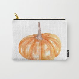 Orange Pumpkin Carry-All Pouch