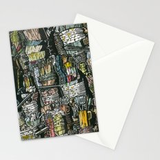 Dirty dishes Stationery Cards