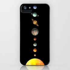 The Solar System iPhone (5, 5s) Slim Case
