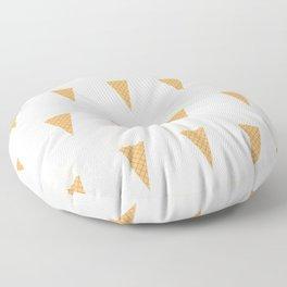 Vanilla Ice-creams Floor Pillow