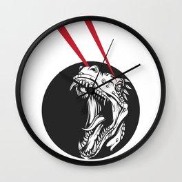 T-Rex Vision Wall Clock
