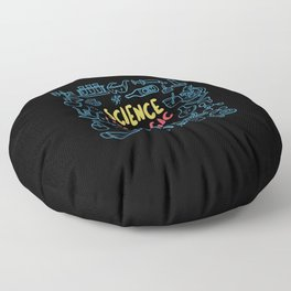 Science Like Magic But Real Funny Floor Pillow