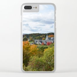 Harbor Springs Bay- View from Bluff(3) Clear iPhone Case