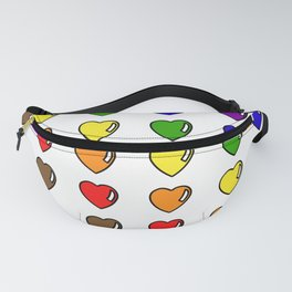Pride Hearts Fanny Pack