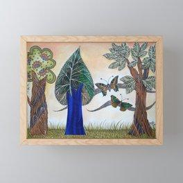 Butterflies in love II Framed Mini Art Print